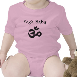 Yoga hindú del bebé camisetas