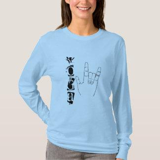 YOGA I Love You - Long-Sleeve Yoga Shirt