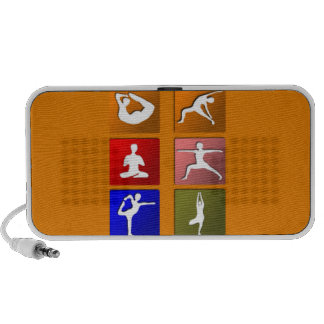 Yoga Icons Notebook Speakers