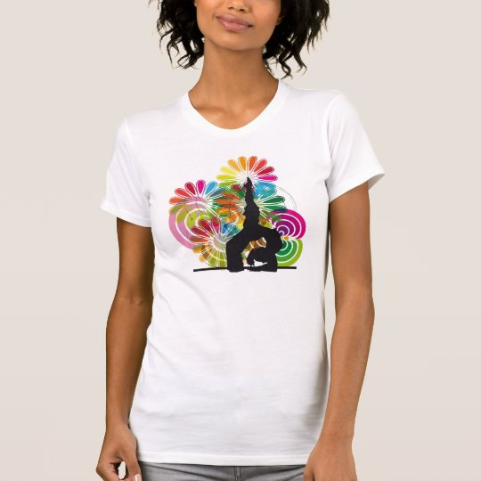 Yoga illustration T-Shirt