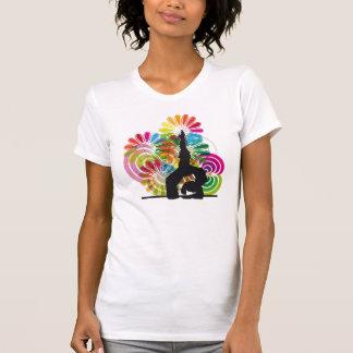 Yoga illustration t-shirts