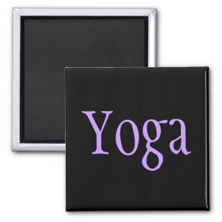 Yoga Imán Cuadrado
