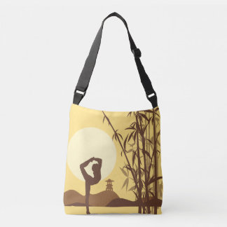 Yoga in Sunshine Crossbody Bag