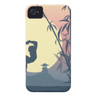 Yoga in the Mist iPhone 4 Case-Mate Case