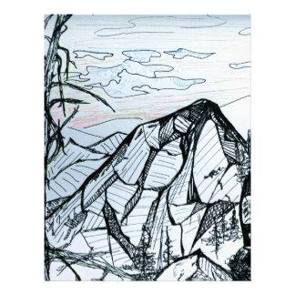 Yoga in the mountains letterhead