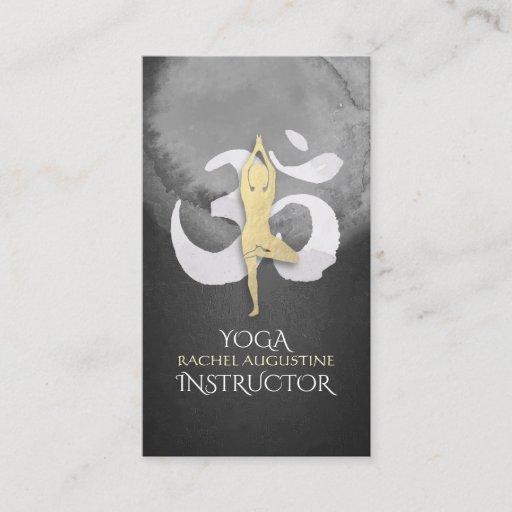 YOGA Instructor Appointment Meditation Posture OM