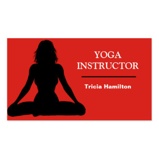 Yoga Instructor  Business Card