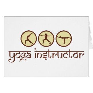 Yoga Instructor Card