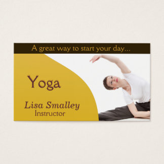 Yoga Instructor | Classes | Professional Business Card