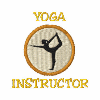 Yoga Instructor Embroidered Shirt