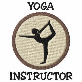 Yoga Instructor Embroidered Sweatshirt