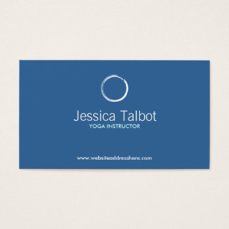 YOGA INSTRUCTOR, FITNESS TRAINER Business Card