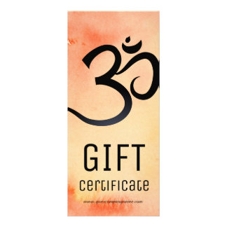 Yoga Instructor Gift Certificate