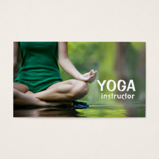 Yoga Instructor, Meditation Business Card