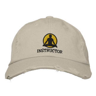 Yoga Instructor Men's Embroidered Cap