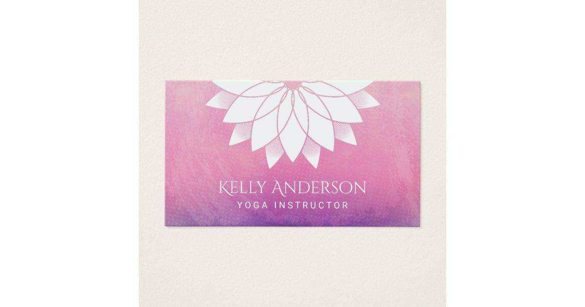 Nice Yoga Business Card Gallery - Business Card Ideas - etadam.info