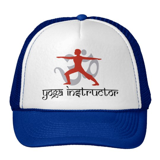 Yoga Instructor Trucker Hat