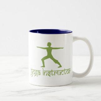 Yoga Instructor Two-Tone Coffee Mug