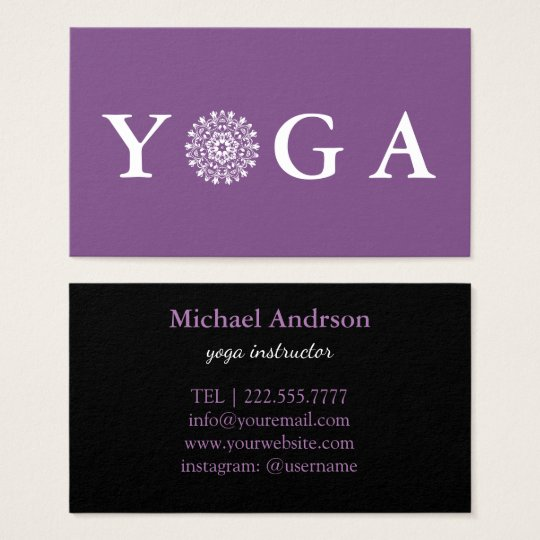 Yoga instructor vintage style business card zazzle yoga instructor vintage style business card colourmoves