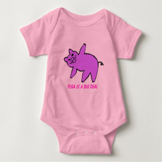 Yoga is a Big Deal - Baby Baby Bodysuit
