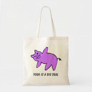 Yoga is a Big Deal - Yoga Tote Bags
