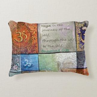 Yoga is… decorative pillow