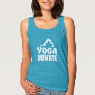 Yoga Junkie funny tank top