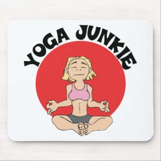 Yoga Junkie Gift Mouse Pad