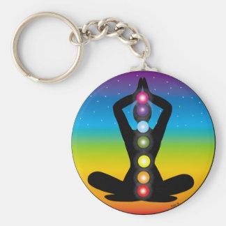 Yoga Keychain
