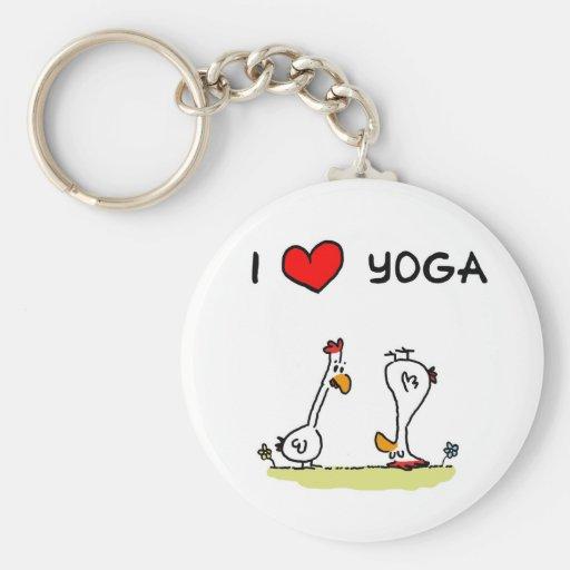 Yoga Keychains