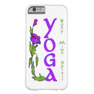 Yoga: La práctica para la mente, cuerpo y alma Funda Barely There iPhone 6