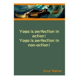 Yoga Large Business Card