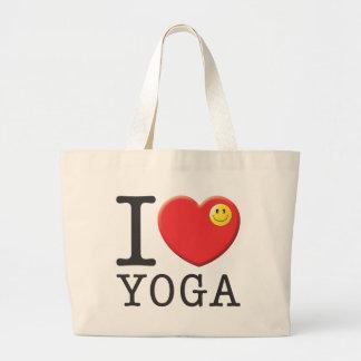 Yoga Large Tote Bag