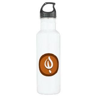 Yoga 'Leaf' Bottleworks Stainless Steel Water Bottle