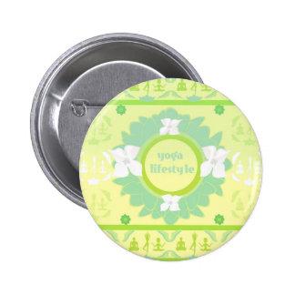 yoga lifestyle Badge Pinback Button
