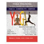 Yoga linda tarjetas informativas