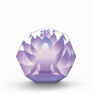 Yoga Lotus Blossom Namaste Award