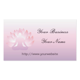 Yoga Lotus Business Card
