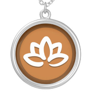 Yoga 'Lotus Flower' Necklace
