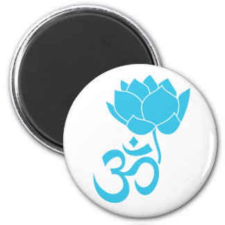 yoga lotus magnet