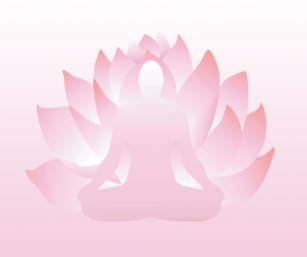 Lotus flower yoga pose mouse pads zazzle yoga lotus pose pink flower namaste mousepad mightylinksfo