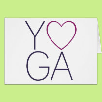 yoga love card