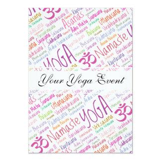 Yoga Lover's Card