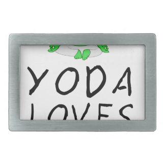 yoga loves yoga rectangular belt buckle