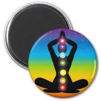 Yoga Fridge Magnets