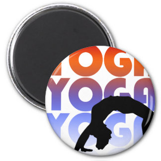 yoga 2 inch round magnet