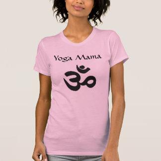 Yoga Mama Hinduism Pink Raglan Short T-shirt