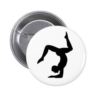 Yoga man button