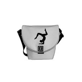 Yoga man courier bag