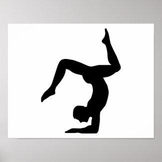 Yoga man posters
